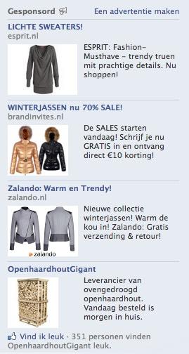 Facebookadvertentie